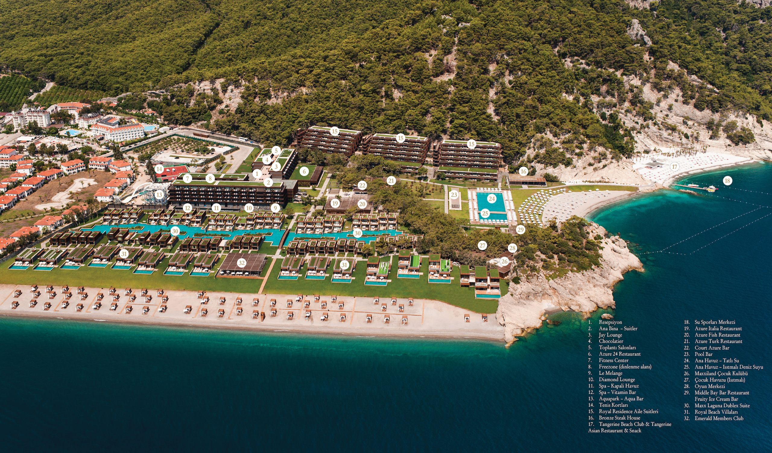 Maxx Royal Kemer Resort Almari